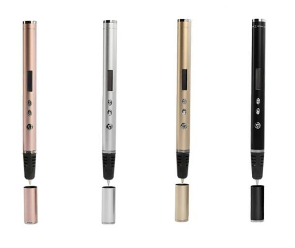 3d Pen Oled Scribble With Pla Abs Filament 3d Printer 3d Printing Pen Gadget